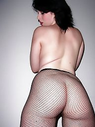 Pantyhose, German, Fishnet, Emo