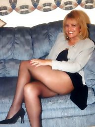 private stockings wife Amateur mature