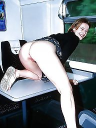 Bus, Public fuck, Sexy mature, Train, Milf fuck