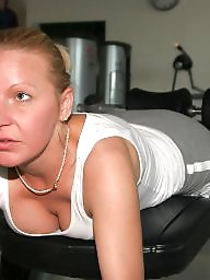 Gym, Naked, Mature naked, Mother