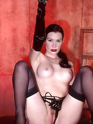 Bdsm milf, Pose, Dungeon, Latex, Posing