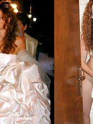 Bride, Brides, Dress undress, Dressing, Dressed, Real