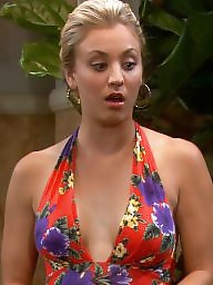 Cleavage, Celebrities, Kaley cuoco, Celebrity, Dressed, Dress