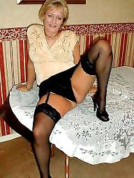 Amateur stockings, Mature stocking, Wanking