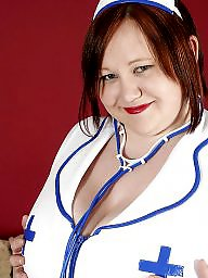 Bbw stocking, Nurse