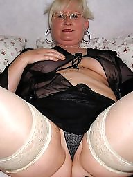 Mature stockings, Mom, Moms