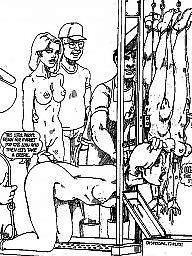 Bdsm 만화, 백인 흑인