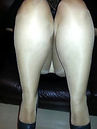 My wife, Stockings, Upskirt, Amateur stockings, Wife stockings