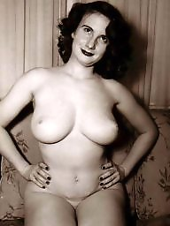 Vintage boobs, Big natural