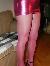 Satin, Black stockings, Touch, Bisexual