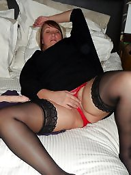 Stocking, Wife, Stockings, Milf stockings, Milf stocking, Big boob