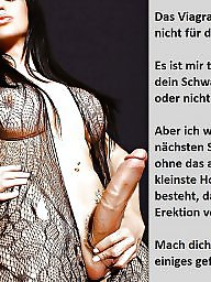German caption, Femdom caption, German captions