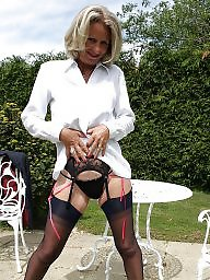 Mature stockings, Ladies