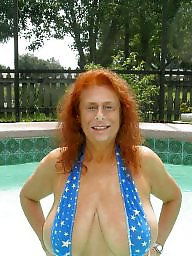Granny big boobs, Granny, Granny tits, Granny boobs, Granny big tits, Mature redhead