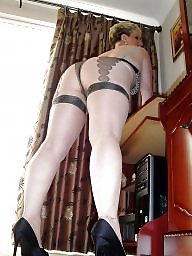 Mature, Pantyhose, Mature stockings, Stockings, Bbw pantyhose, Bbw