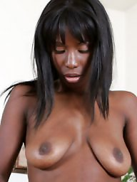 Black tits, Ebony, Amateur ebony, Black, Black amateur