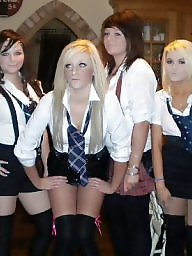 Party, Uniform, Schoolgirl, Chavs