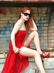 Redheads stockings, Redhead stocking, Redhead stockings, Redhead pantyhose, Pantyhosed babe, Pantyhose redhead