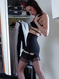 Stockings upskirt, Girdles, Upskirt stockings, Upskirt ass