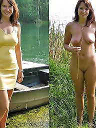 Mature dressed undressed, Undress, Undressed, Dress, Mature dress, Dressing