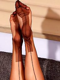 Nylon feet, Nylons, Stocking feet, Interracial, Feet, Nylon