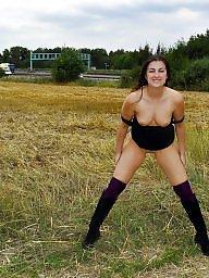 Amateur outdoor, Outdoor, Public nudity