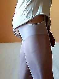 White pantyhose, White stockings, White stocking amateurs, White stocking, White matures, Pantyhosed mature