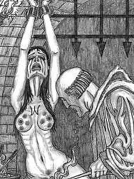 Art, Bdsm art, Torture