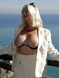 Sandy, Sheer, Blonde mature