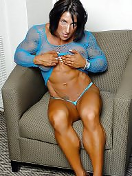 Muscle, Shirt, Fishnet, Muscled, Fishnets