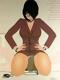 Femdom cartoon, Cartoon bdsm, Facesit, Femdom cartoons, Bdsm cartoons
