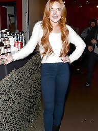 Talk, Talking, Talked, Redheads celebrity, Redhead blonde, Lohan