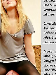 Femdom caption, German caption, German captions, Caption, German
