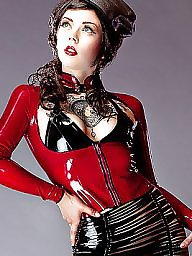 Latex, Lady, Ladies, Vintage