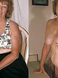 granny hairy Dressed pics undressed