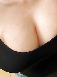 Natural tits, Cleavage, Big natural