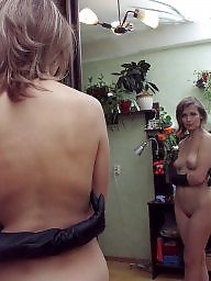 Russian, Housewife, Russian milf, Milf tits