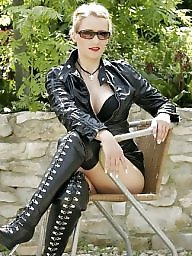 Pvc, Mature leather, Leather, Mature pvc, Leather milf, Latex amateur