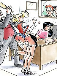 Cartoon bdsm, Cartoon, Spanking, Spanking cartoon, Spanked, Spank