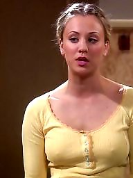 Big nipples, Big nipple, Hard nipples, Nipples, Nipple, Kaley cuoco