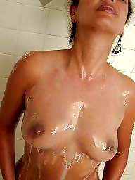 Latina mature, Mature shower, Mature latina, Barbara