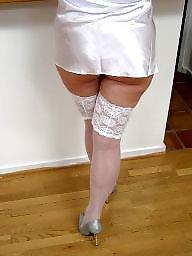 White stockings, White stocking amateurs, White stocking, Stockings white, Amateurs stocking white, Amateur white stockings