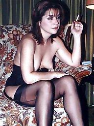Smoking, Sexy milf, Smoke