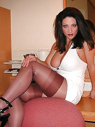 Cougars, Mature stockings, Cougar, Stockings