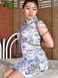 Elegant, Asian bdsm, Chinese, Slave, Bondage, Asian bondage