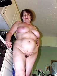 Kitchen, Mature naked, Housewife, Naked mature