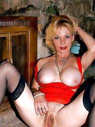 Oma brüste groß, Oma reif stockings, Strümpfe
