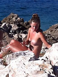 Croatia, Beach voyeur, Nudist