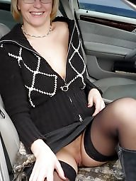 Upskirt, Car