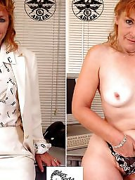 Mature dressed undressed, Undressed, Dressing, Dress, Milf dress, Mature dressed